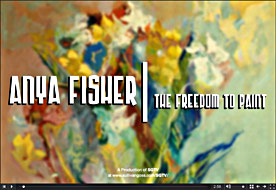 Anya Fisher: The Freedom to Paint
