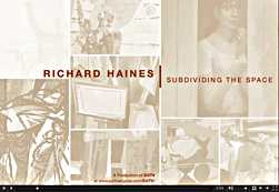 Richard Haines: Subdividing the Space, 2011